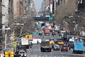 Frank Jacobs NewYork traffic