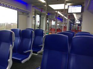 corona covid19 lege trein